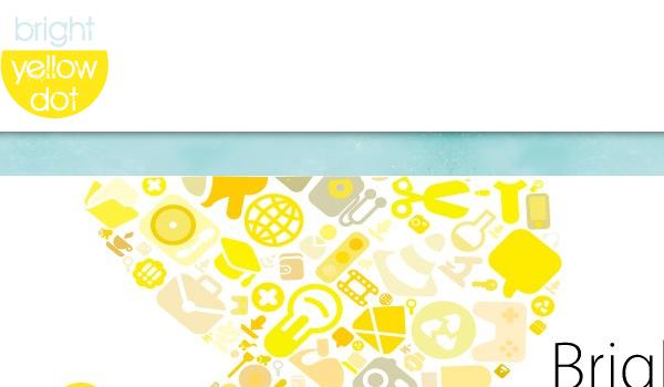 Bright Yellow Dot